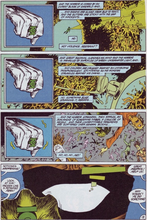 Comic Book Merged Humans - Swamp Thing V2 #61 (1987) - Page 14