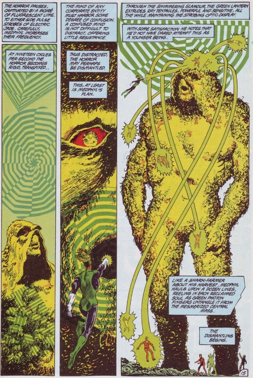Comic Book Merged Humans - Swamp Thing V2 #61 (1987) - Page 16