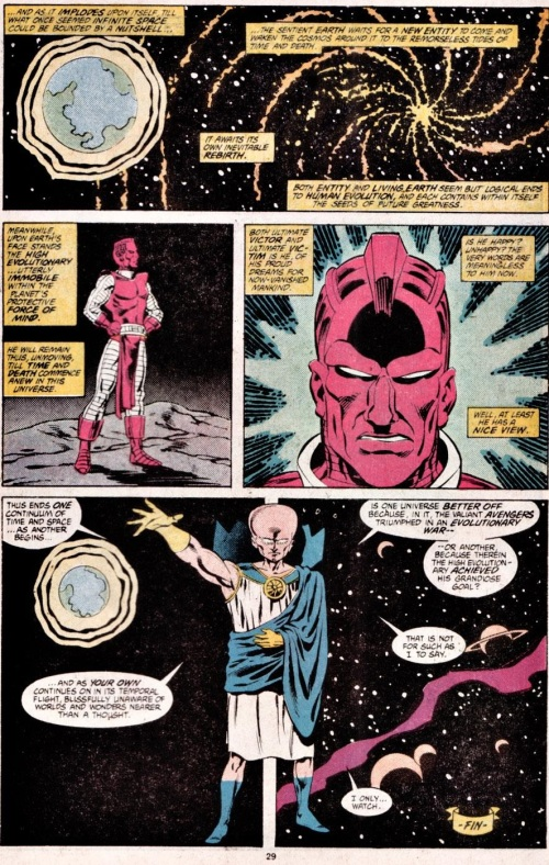 Comic Book Merged Humans - What If The Avengers Lost the Evolutionary War V2 #1 - Page 30