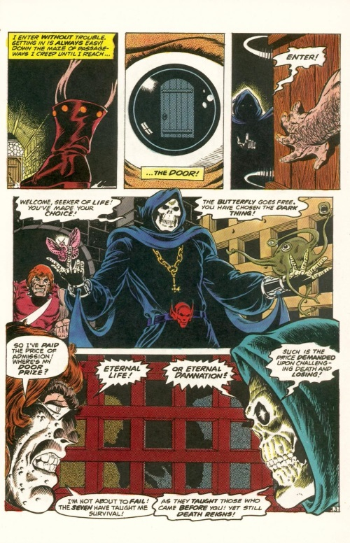 Abstract Entities-Jim Starling-The Birth of Death-Star Reach Classics #1 (1984) - Page 13