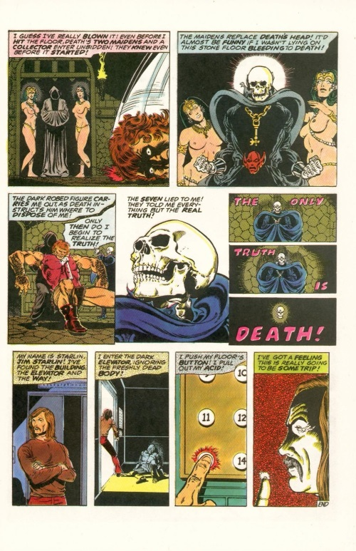 Abstract Entities-Jim Starling-The Birth of Death-Star Reach Classics #1 (1984) - Page 17