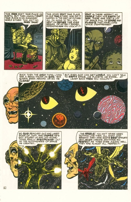 Abstract Entities-Jim Starling-The Birth of Death-Star Reach Classics #1 (1984) - Page 4