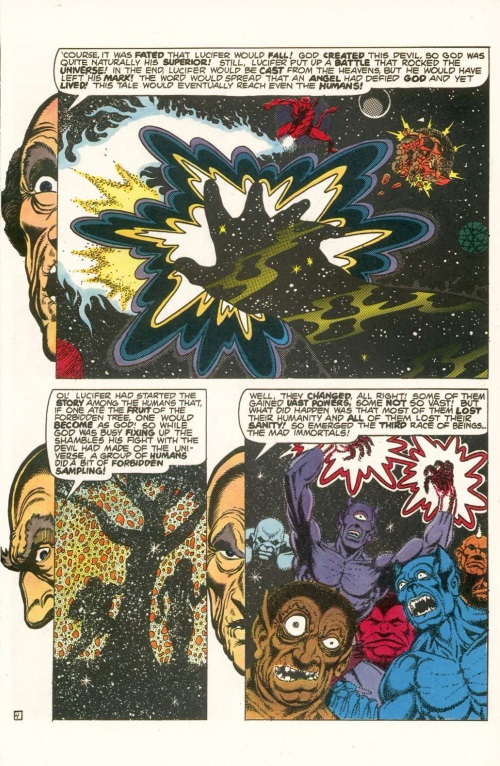 Abstract Entities-Jim Starling-The Birth of Death-Star Reach Classics #1 (1984) - Page 6
