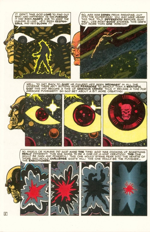 Abstract Entities-Jim Starling-The Birth of Death-Star Reach Classics #1 (1984) - Page 7
