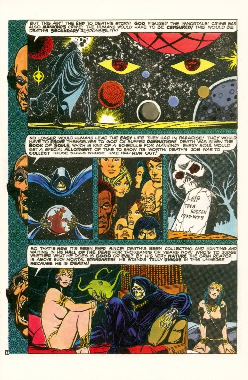 Abstract Entities-Jim Starling-The Birth of Death-Star Reach Classics #1 (1984) - Page 9