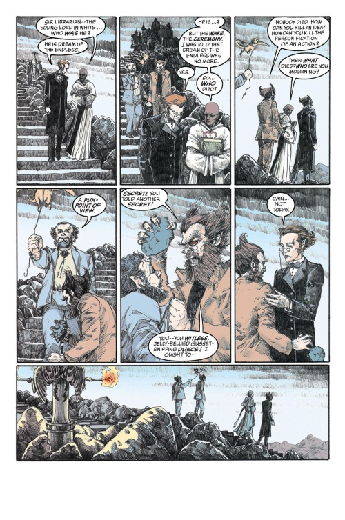 DC Abstract Entities-Abel-The Sandman-The Wake V10 (Vertigo)
