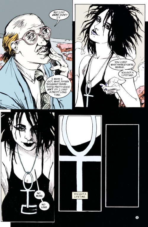 DC Abstract Entities-Death-The Sandman-Brief Lives V7 (Vertigo)