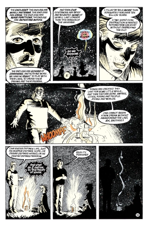 DC Abstract Entities-Destruction-The Sandman-Brief Lives V7 (Vertigo)