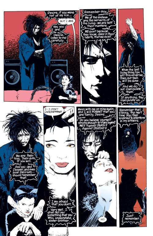 Dc Abstract Entities Dream And Desire The Sandman The Doll S House