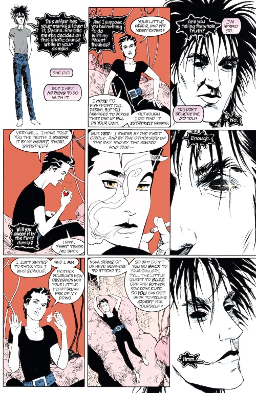 DC Abstract Entities-First Circle-The Sandman - Brief Lives V7 (2011) - Page 56