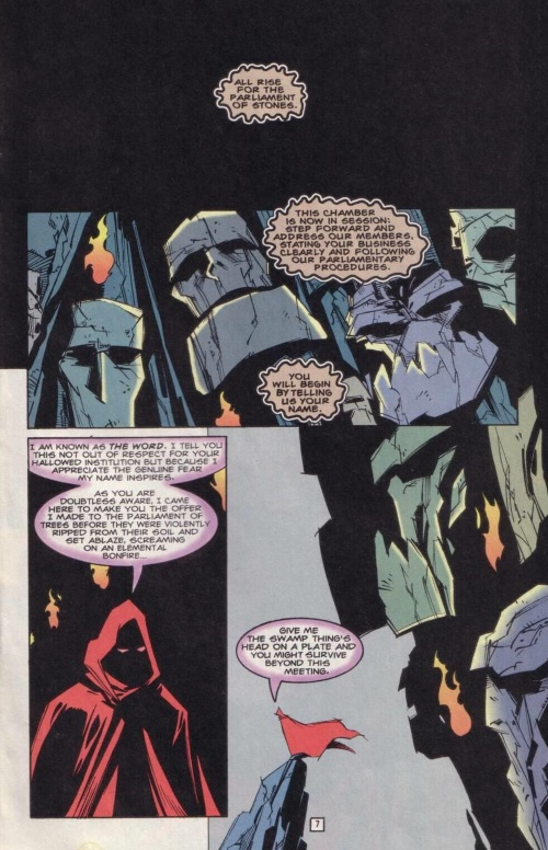 DC Abstract Entities-Word-Swamp Thing V2 #168 - Page 8