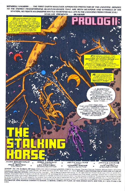 Marvel Abstract Entities-Anomaly-Quasar V1 #20 - Page 2