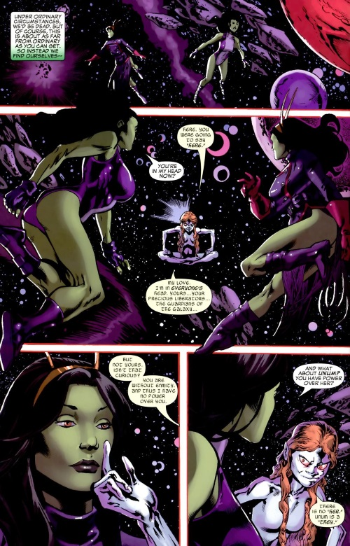 Marvel Abstract Entities-Enmity-She-Hulk - Cosmic Collision #1 - Page 34