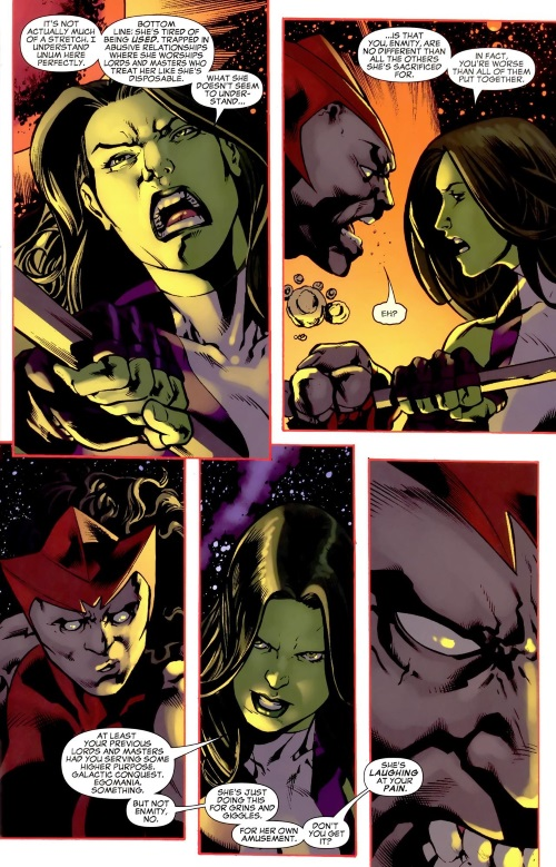 Marvel Abstract Entities-Enmity-She-Hulk - Cosmic Collision #1 - Page 37