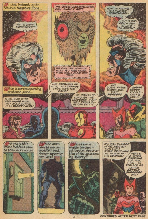 Marvel Abstract Entities Eon Captain Marvel V1 #28   Page 4 ...