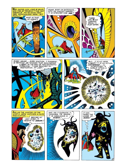 Marvel Abstract Entities-Eternity-Strange Tales #138 (1965) - Page 16