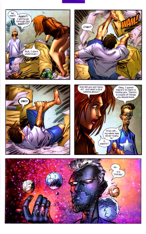 Marvel Abstract Entities-Eulogy-Captain Marvel V4 #25 (2004) - Page 12