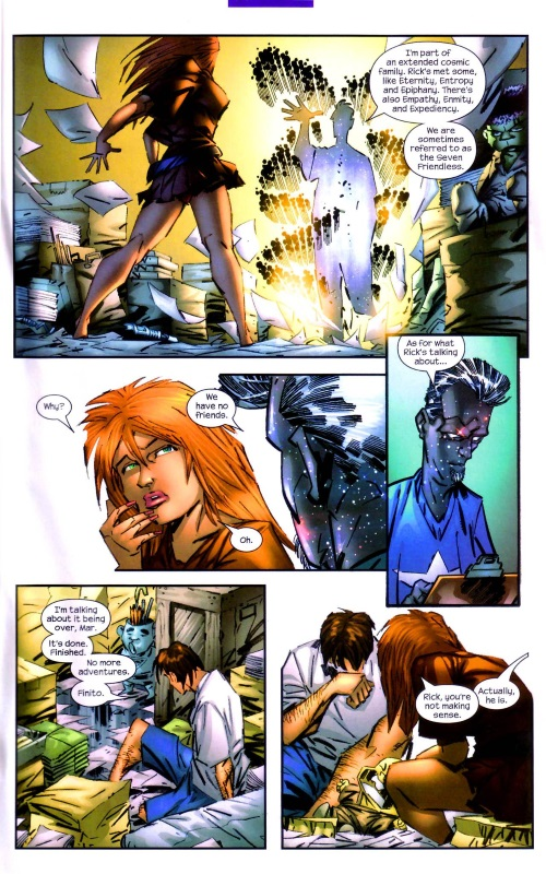 Marvel Abstract Entities-Eulogy-Captain Marvel V4 #25 (2004) - Page 13