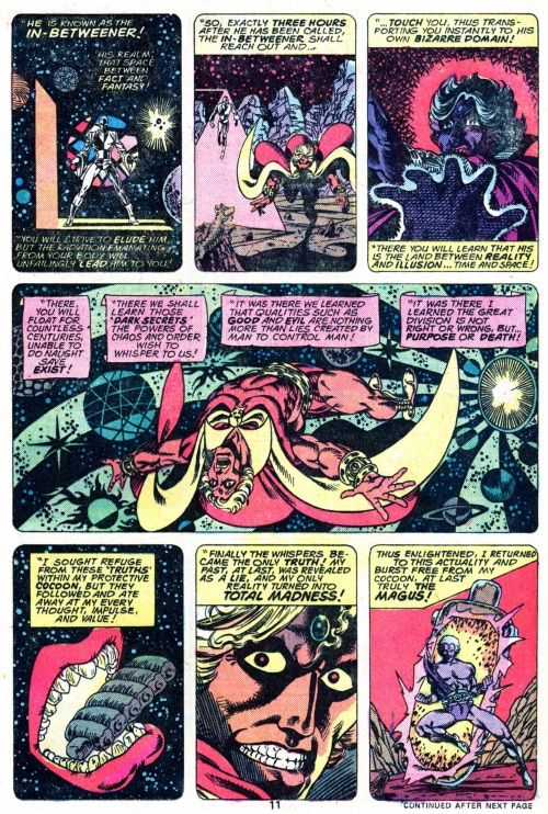 Marvel Abstract Entities-In-Betweener-Warlock V1 #9 - Page 13