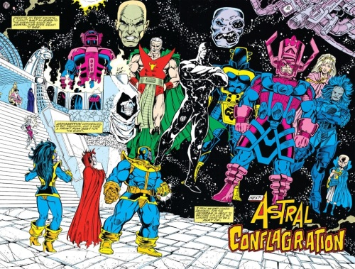 Marvel Abstract Entities-Infinity Gauntlet #4 (Marvel)