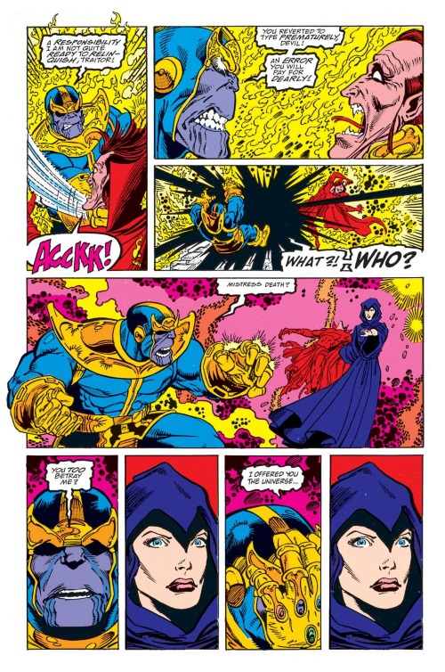 Marvel Abstract Entities-Infinity Gauntlet #5 (of 6) - Page 17