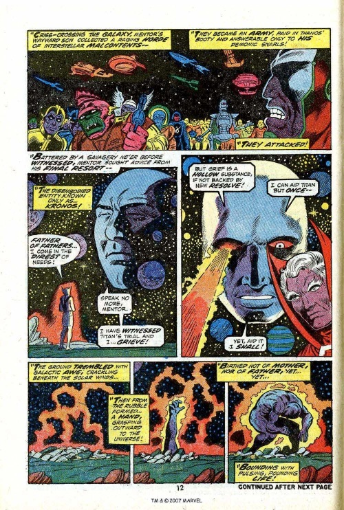 Marvel Abstract Entities-Kronos-The Invincible Iron Man #55 - Page 14