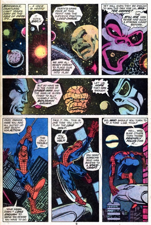 Marvel Abstract Entities-Lord Chaos & Master Order-Annual Marvel Two-in-One #2 - Page 11