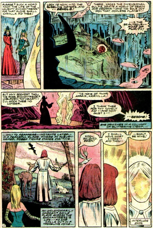 Attrayant Marvel Abstract Entities Mistress Love Defenders V1 #107 U2013 Page 18