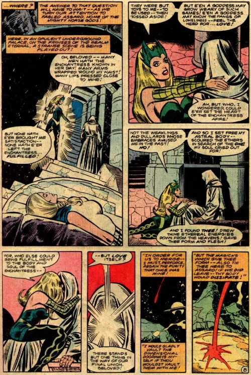Marvel Abstract Entities-Mistress Love-Defenders V1 #108 - Page 9
