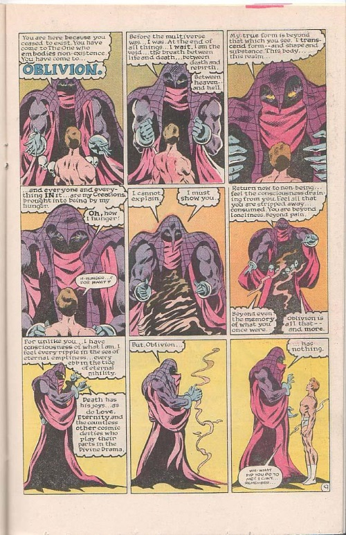 Marvel Abstract Entities-Oblivion-Iceman V1 #3 - Page 10