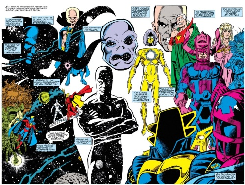 Marvel Abstract Entities-Sire Hate-Infinity Gauntlet #3