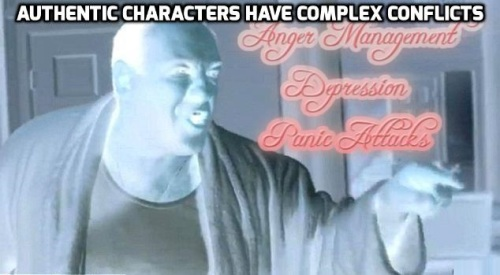 Tony Soprano-Authentic Characters Have Complex Conflicts