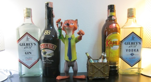 Nick Wilde of Zootopia has a Beer 6