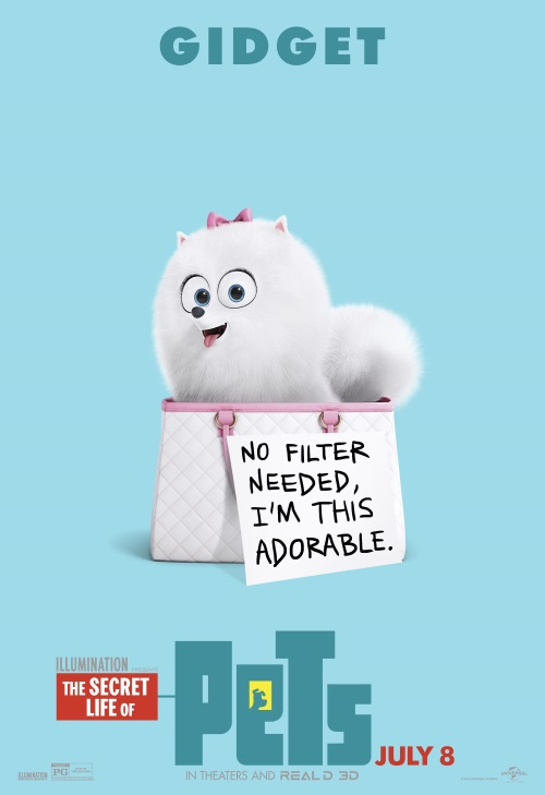 Gidget-The Secret Life of Pets