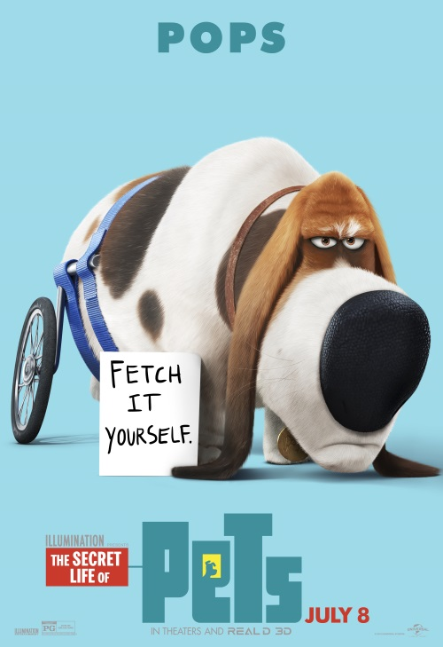 Pops-The Secret Life of Pets