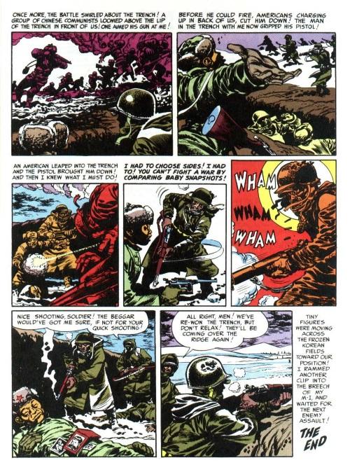 5 2-War Comics Anthologies-Frontline Combat #1 (EC) | Hugh