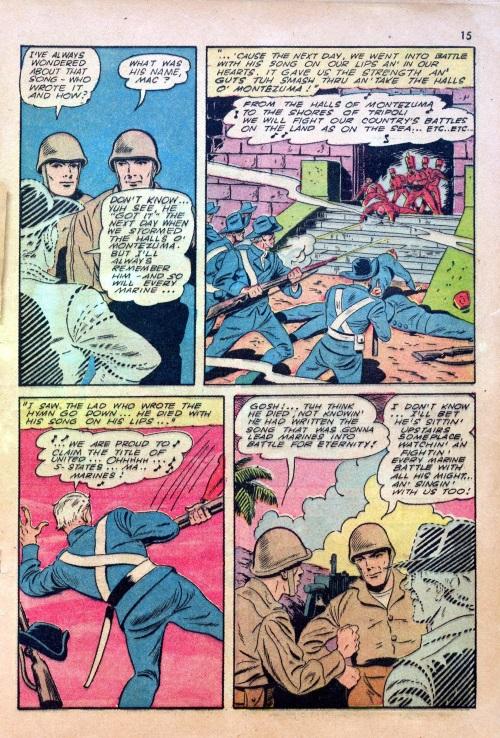 95-War Comics plus Speculative Fiction-Devil Dog Comics #1